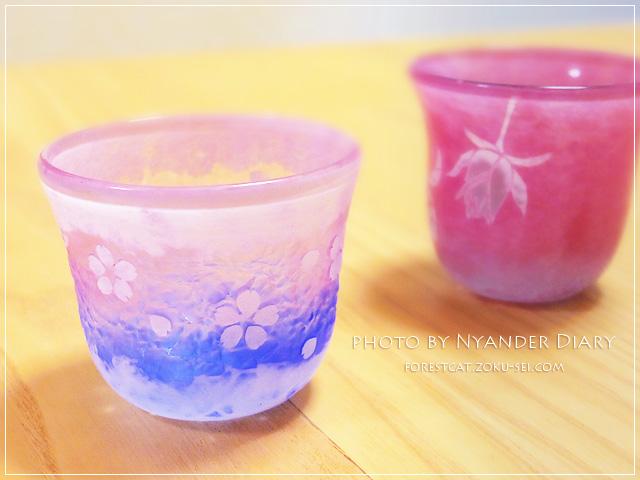 グラスアート・アン お花の切り絵が美しい デザイングラス